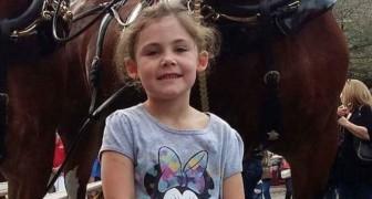 Il photographie sa fille près d'un cheval: quand il voit la photo entière, il ne peut pas en croire ses yeux!