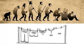 La (triste) vérité sur l'évolution humaine en 16 images drôles