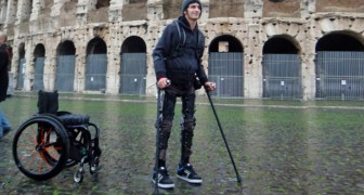 Deze uitvinding kan het leven van mensen met een handicap gedwongen om zich in een rolstoel te vervoeren veranderen
