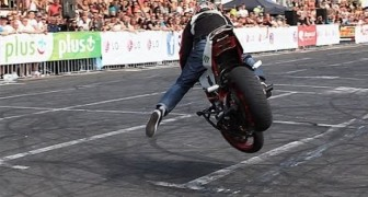 Primo classificato Al Grand Prix Stunt 2013