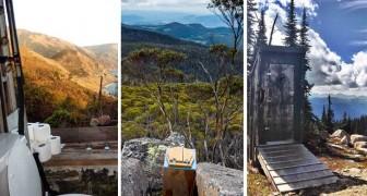 25 gabinetti panoramici che dovreste provare almeno una volta nella vita