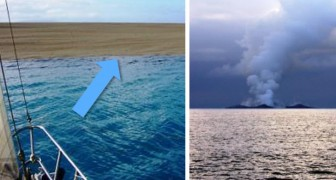 Sie finden einen Strand in Mitten des Ozeans: Was dann passiert ist beängstigend und faszinierend