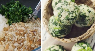 Come preparare delle ottime e salutari polpette di spinaci