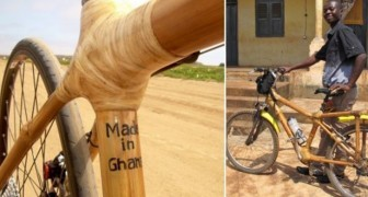 Een ondernemer produceert fietsen van bamboe en verandert hiermee het leven van een heel dorp