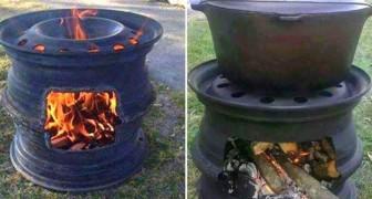 Si vous ne savez pas quoi faire de deux roues anciennes... voici quelque chose de très utile!