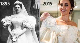 Toutes les épouses de cette famille ont porté la même robe: la voici après 120 ans