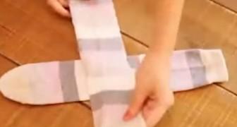 Existe um modo perfeito para dobrar e guardar as meias. Veja aqui!