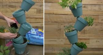 Come costruire una fioriera originale in 5 minuti senza usare colla o chiodi