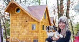 7 persone che vivono felici in una casa più piccola della tua camera da letto