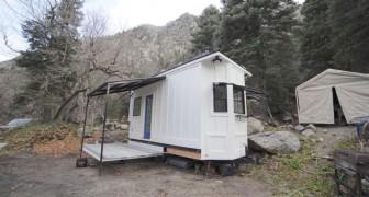 Vous vivriez dans une maison aussi petite? Avant de répondre, jetez un coup d'œil à l'intérieur