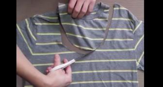 Hai una vecchia maglietta? Prima di gettarla via, ecco cosa puoi farci