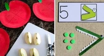 10 metodi divertenti per insegnare la matematica ai vostri figli... evitando che diventi un incubo