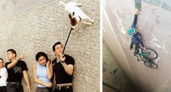 Een kwestie van gezichtspunt: 17 briljante foto's waarop NIETS lijkt wat het is