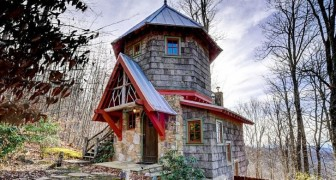 Het sprookje wordt werkelijkheid: laat je betoveren door dit huis in het bos