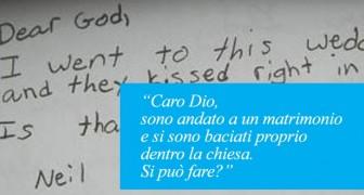 Un insegnate invita i bambini a scrivere una lettera a Dio: le richieste sono esilaranti