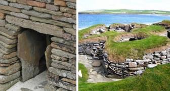 Een boer ziet een opening in de grond en ontdekt een dorp van 5000 jaar geleden