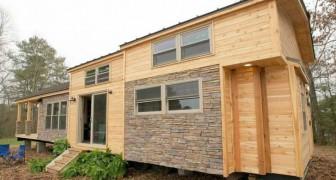 Si costruiscono una casa di appena 37 mq ma non vogliono rinunciare al comfort: ecco il risultato