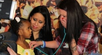 She hears her child's heart beating and starts crying --- The reason why is so touching!