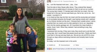 Elle achète une glace à ses enfants  et ensuite elle la jette à la poubelle : le motif a divisé les parents du monde entier