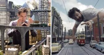Dit zijn een aantal beroemde filmscènes die in werkelijkheid niets meer dan miniaturen waren