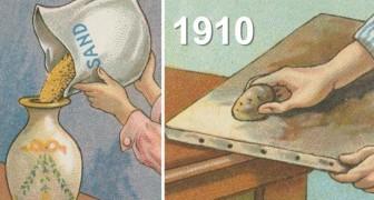 25 Tricks, die über 100 Jahre alt sind...aber immer noch überraschend nützlich und brilliant sind!