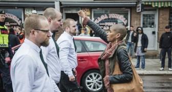 Seule contre 300 nazis: voici la nouvelle héroïne de la lutte contre l'intolérance