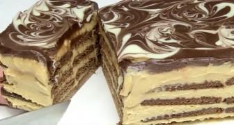 Una torta biscotto deliziosa? Eccola qui... un gioco da ragazzi!