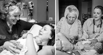 43 potenti foto di madri che assistono le figlie nel momento più importante della loro vita