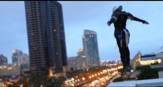 Assassin's Creed incontra il parkour