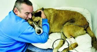 La sua casa era in fiamme, ma quest'uomo ha rischiato la vita per salvare il suo cane