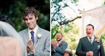 Die schönsten Reaktionen von Männern als sie ihre Frau im Brautkleid sahen