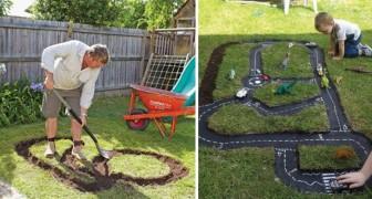 Iniziate a scavare un solco in giardino: ecco alcune idee per cui i bambini impazziranno