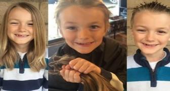 Dit Jongetje Schenkt Zijn Haar Aan Kankerpatiënten, Maar Het Lot Heeft Iets Schokkends En Absurds Voor Hem In Petto
