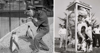 Queste curiose fotografie ci raccontano gli ultimi 100 anni in maniera decisamente originale