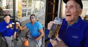Un homme de 93 ans avait un petit et simple désir: quelqu'un a décidé de l'écouter