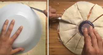 Voici comment préparer une pizza délicieuse et à l'apparence... étoilée!