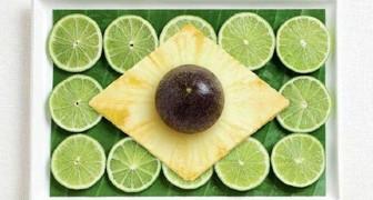 Des drapeaux élaborés avec de la nourriture: un projet de photo étonnante et... savoureuse
