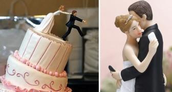Sposarsi con ironia: ecco alcune tra le statuine nuziali più divertenti che abbiate mai visto