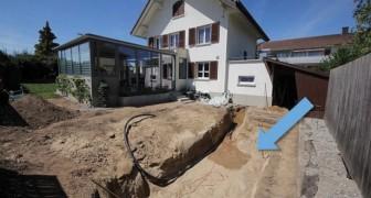 Una famiglia svizzera impiega un anno per rinnovare il giardino. Il risultato è a dir poco strepitoso