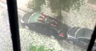 Comment protéger sa voiture contre une averse