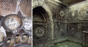 Ein Bauer entdeckt eine unterirdische Höhle die bedeckt ist von Muscheln: Ein noch nicht gelöstes Rätsel