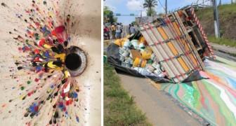 Il caso supera l'estro: 11 favolosi esempi di arte accidentale che vorreste capitassero a voi
