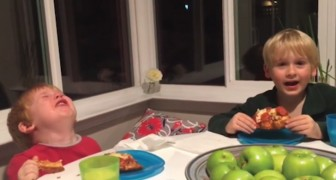Mom tells her sons that a baby sister is arriving --- Their reactions are a sight!