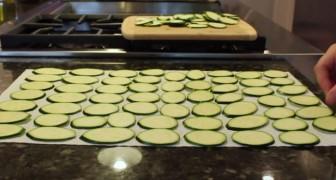 Efter att ha sett det här receptet med zucchini så kommer ni aldrig mer att äta vanliga chips!