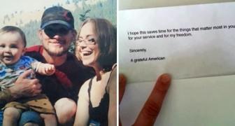 Un vétéran de guerre reçoit un billet anonyme: lorsqu'il ouvre la porte, il reste sans voix