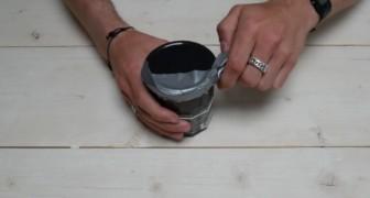 Comment ouvrir le couvercle d'un bocal en verre avec le ruban adhésif en toute facilité