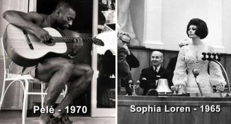 Zeldzame foto's van beroemdheden en historische figuren zoals je ze nog nooit hebt gezien