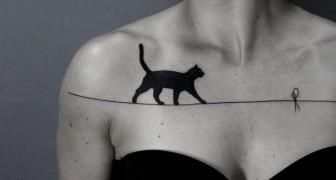 Vous n'aimez pas les tatouages? Ces versions surréalistes vont vous faire changer d'avis