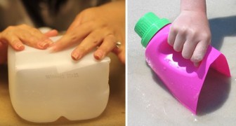 Upcycle your plastic containers!