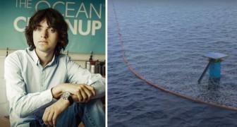 Un 19enne trova un modo per ripulire gli oceani mai tentato prima: i primi risultati sono sorprendenti